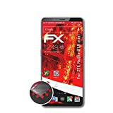 atFolix Schutzfolie kompatibel mit ZTE Nubia Z18 Mini Folie, entspiegelnde & Flexible FX Bildschirmschutzfolie (3X)