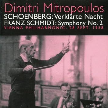 Schoenberg: Verklarte Nach - Schmidt: Symphony No. 2 (1958)