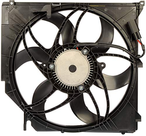 Dorman 621-194 Engine Cooling Fan Assembly for Select BMW Models, Black