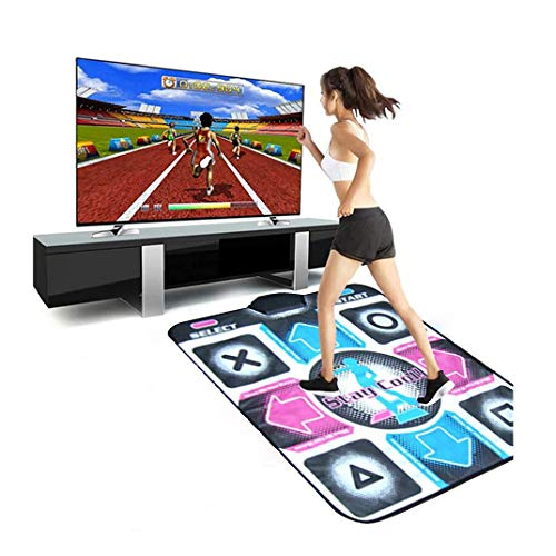2021 Non-Slip Dance Mat, 35 x 35 inch Dancing Pad Wireless USB Dance Game Blanket High Sensitivity,Multi-Function Compatible for PC TV Video Games Kids and Adults (B)