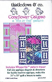 Coneflower Calypso Quilt Pattern by Thistledown & Co. 31