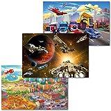 GREAT ART 3er Set XXL Poster Kinder Motive – Cartoon