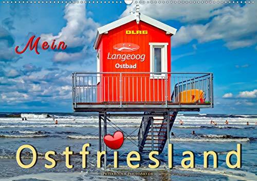 Mein Ostfriesland (Wandkalender 2021 DIN A2 quer)