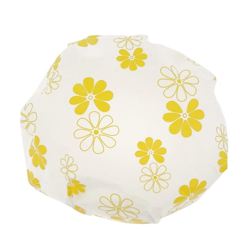 うっかり愛情オールToygogo 入浴キャップ シャワーキャップ お風呂キャップ 入浴帽子 お風呂ハット 全3色 - 黄