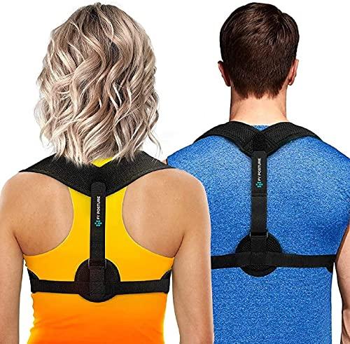 Posture Corrector for Men and Women, Upper Back Brace for...