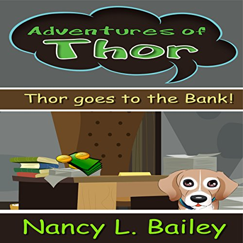 Thor Goes to the Bank! audiobook cover art