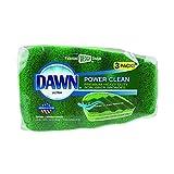 Dawn Power Clean Reinigungsschwamm, Grün, 3 Stück