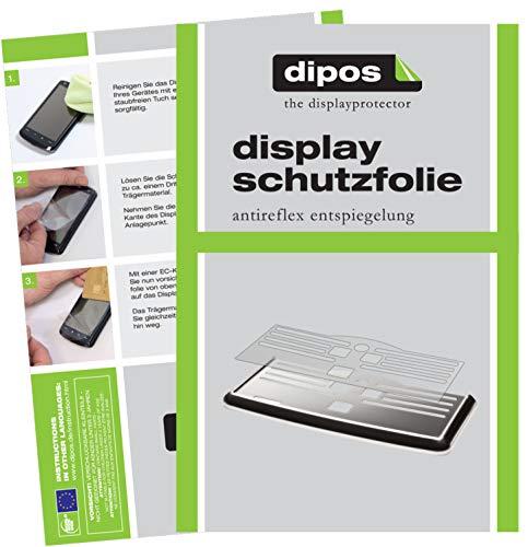 dipos 2 x matowa folia ochronna kompatybilna z Philips EP5330/10 blacha ociekowa I w pełni ekspresy do kawy I taca ociekowa I kratka do ociekania kompatybilna z ekspresem do kawy