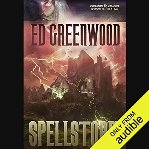Spellstorm     Forgotten Realms: Elminster, Book 6              Written by:                                                                                                                                 Ed Greenwood                               Narrated by:                                                                                                                                 John Pruden                      Length: 11 hrs and 14 mins     3 ratings     Overall 4.7