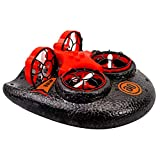 StyleV Mini Drone, Kids Toy Flying Toys RC Boats for Pools and Lakes, Remote Control Car for Kids, Sea-Land-Air Mode Switchable Hovercraft RC Quadcopter Helicopter Gifts for Boys Girls