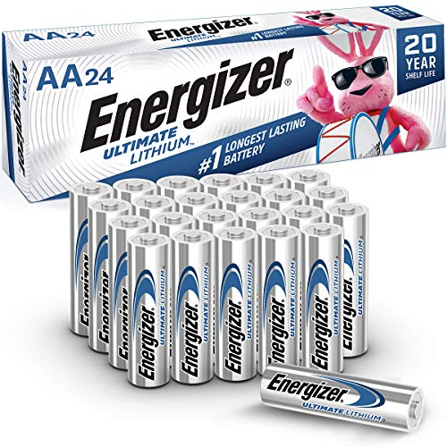 Energizer AA Lithium Batteries, World's Longest...