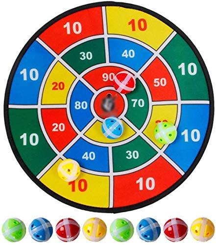 B-fengliu Dart Board con 8 Bolas Sports Toys Set Children Interoor Outdoor Sport Toy Social Padres-Child Party Juego