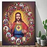 Handaxian Religiöse Jesus Bild Leinwand Poster Ölgemälde
