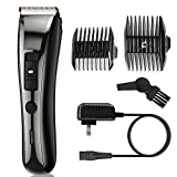 AIBORS Professional Cordless Hair Clippers for Men/Women/Kids/Baby/Barber Grooming Haircut Kit, Quiet Rechargeable Home Hair Trimmer