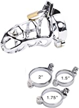 2019 New Lock Small Male Chüstity Equipment with Urệthral Sound CathệterRiiing Men's Ring Cớck Cage-40mm 45mm 50mm