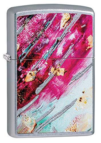 Zippo Rost Patina Design 4, unisex aansteker, windbestendig, chroom
