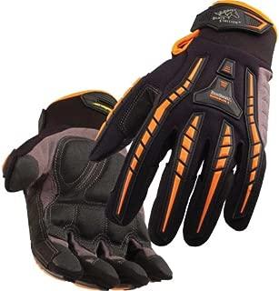 BLACK STALLION ToolHandz Anti-Vibration Leather Mechanic's Gloves GX100 - MEDIUM