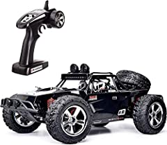 LED lights and powerful engine: Remote controlled car with white and red LED lights, makes you feel more cool and fancy at night. The top speed is up to 25 mph 40 km / h with powerful engine. Fast Speed Monster Truck lets you experience the thrill ...