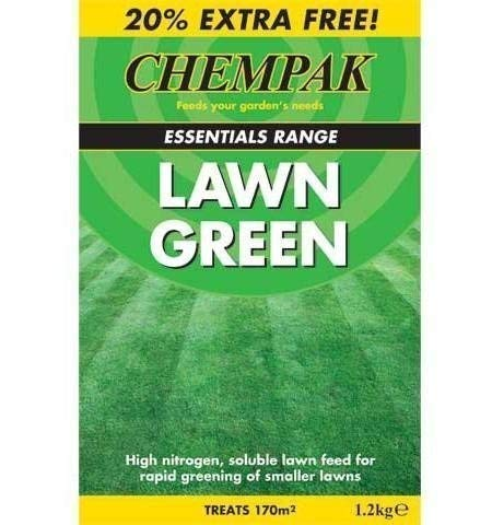 chempak Rasen grün Rasen Futter 1.2kg kg (Leckerli 170m2)