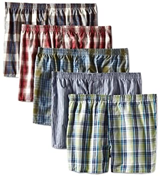 Fruit of the Loom Men s Assorted Low Rise Boxer - Colors May Vary Assorted XXX-Large Pack of 5