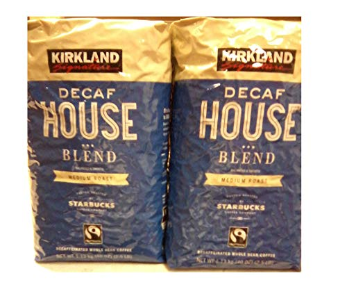 Kirkland Signature Decaf House Blend Coffee (2.5 LB Pack of 2)