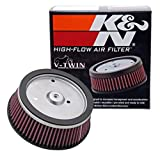 K&N Engine Air Filter: High Performance, Premium, Powersport Air Filter: Fits 2001-2008 HARLEY DAVIDSON (Screamin Eagle, Dyna, Road King, Ultra Classic Electra Gli, and other select models) HD-0800