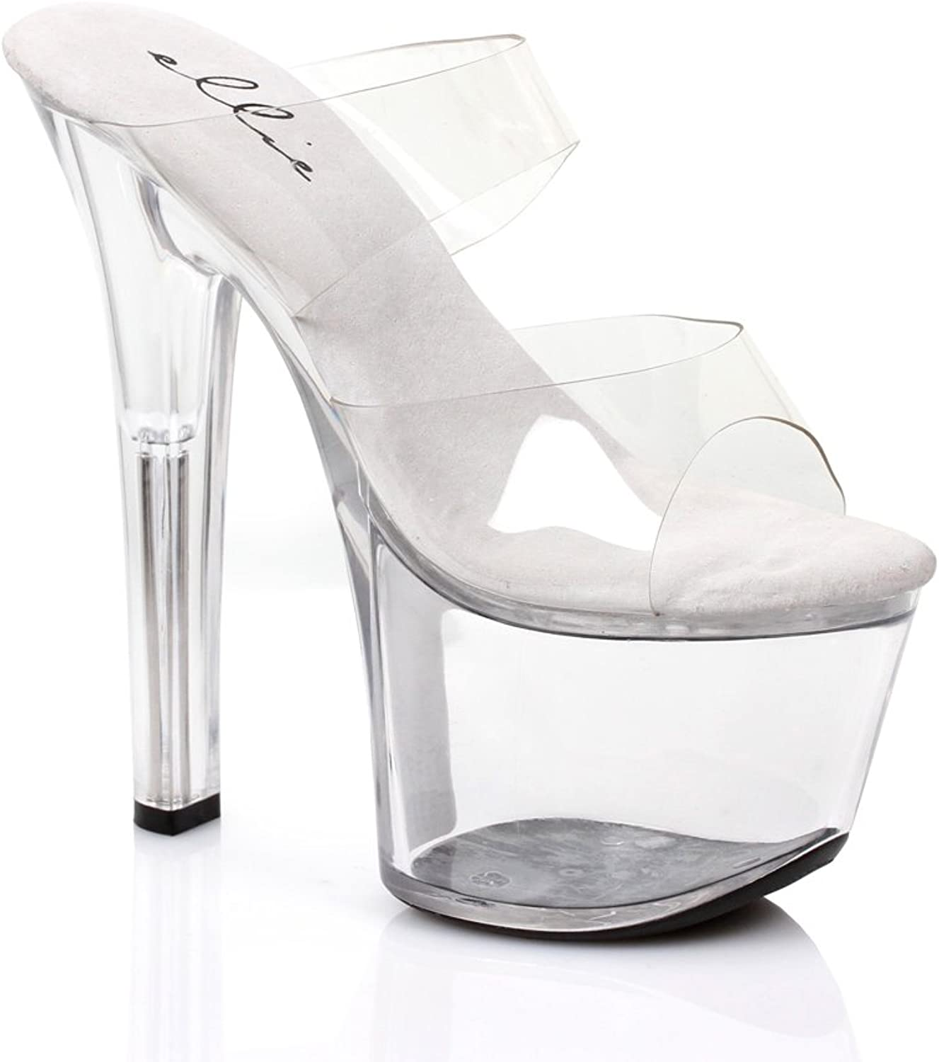 Ellie 711 Coco Womens Clear Sandals