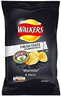Walkers Crisps - Marmite (6x25g) by walkers.co.uk
