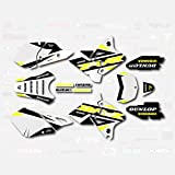 Yellow Shift Graphics Kit fits Suzuki DRZ400SM Drz400s drz400 Supermoto DRZ