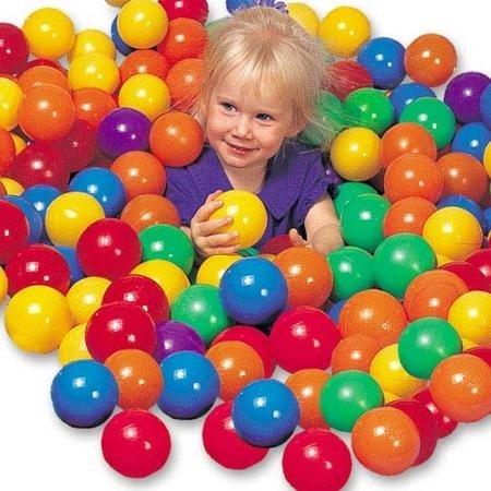 ArturoLudwig 50 X Bällebad Babybälle Bälle Ball Kinder Bälle Plastikbälle Neu , Schwimmbad Kinder by
