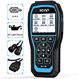 FCAR Heavy Duty Truck Scanner Pro Heavy Truck Scan Tool OBD2 Scanner Full Systems Diagnostic Tool with D-P-F & Oil Light Reset for Hino Isuzu Fuso UD 24V Diesel Truck Mack/Volvo Freightliner