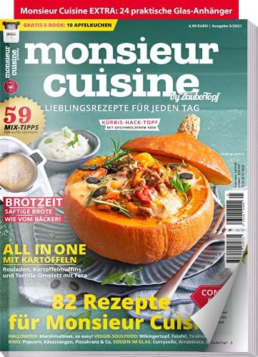 mein ZauberTopf Extra 05/21 - Monsieur Cuisine : 82 Lieblingsrezepte für jeden Tag Rezepte für Monsieur Cuisine: 59 Mix-Tipps für Monsieur Cuisine: Brot Zeit