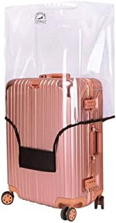 Luggage Cover Clear PVC Suitcase Cover Travel Luggage Protector Case Fit 20-30 Inch Luggage