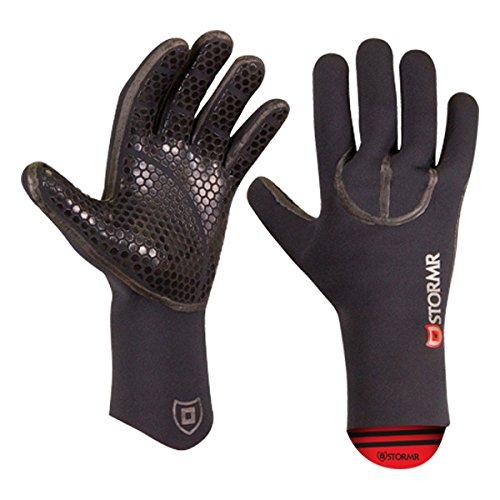 STORMR Typhoon Neoprene Glove, Color: Black, Size: L (RXG30N-01-L)