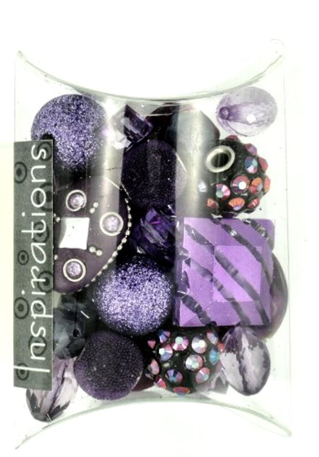 Jesse James Beads 5746 Inspirations Orchid Bead