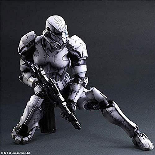 Estatua de Juguete LLJJ Guerra de Las Galaxias Animado Figura Modelo Estatua Hecha a Mano Decoración de Colección Niños s Juguetes B Juguete