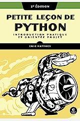 Petite leçon de Python 2e Ed. Hardcover