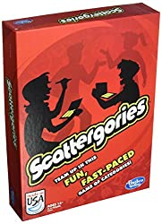 Scattegories game gift for families