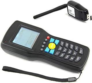 T.Love Barcode Reader Barcode Scanner Wireless Barcode Reader Terminal Data Collector Scanner (Color : Black, Size : 17.5x...