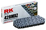 RK Racing Chain 428MXZ-118 118-Links MX Chain with Connecting Link