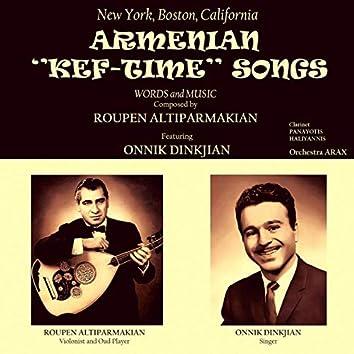 Armenian Kef-Time Songs