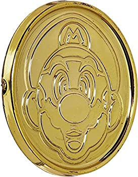 amscan Super Mario Brothers Gold Coins Party Favor 1 3/8  x 1/8