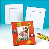 Baker Ross Marcos de fotos de tamaño grande para decorar (Paquete de 5) Manualidades infantiles