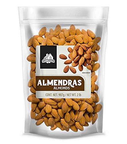Wellhouse Almendra Entera, Almendra, 907 gramos