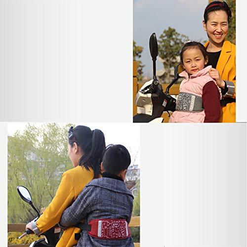Nicedeal Bambino Bambini Moto Cintura di Sicurezza Electric Car Protection Safety Belt (Nero) Adatti a passeggini e Accessori, Prodotti per l'infanzia
