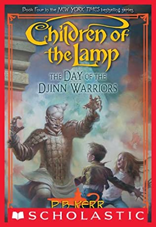 book cover of The Day of the Djinn Warrior