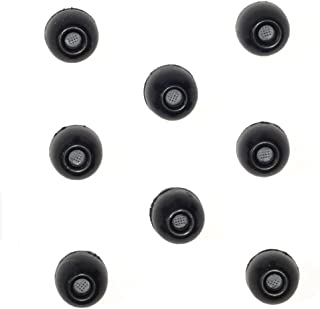 8 PACK - Small SHURE EABKF1-10S (PA910S) Replacement Black Foam Ear tips sleeves fit SHURE SE110 SE112 SE115 SE210 SE215 S...