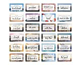 Be Not Afraid Bible Verse Cards with Full Scripture - Pack of 48