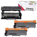 UniVirgin Compatible TN-660 TN660 Toner Cartridge & DR630 Drum Replacement for Brother HL-2340DW HL-L2300D HL-L2360DW DCP-L2540DW DCP-L2520DW MFC-L2700DW MFC-L2740DW (2 x Toner & 1 x Drum,3PK)