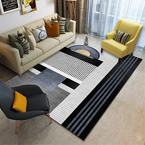 cojín meditación Alfombra Gris Sala de Estar decoración de Oficina sofá tapete colchoneta Rectangular Alfombra para habitacion Alfombra Juegos Bebe 180X280CM 5ft 10.9' X9ft 2.2'